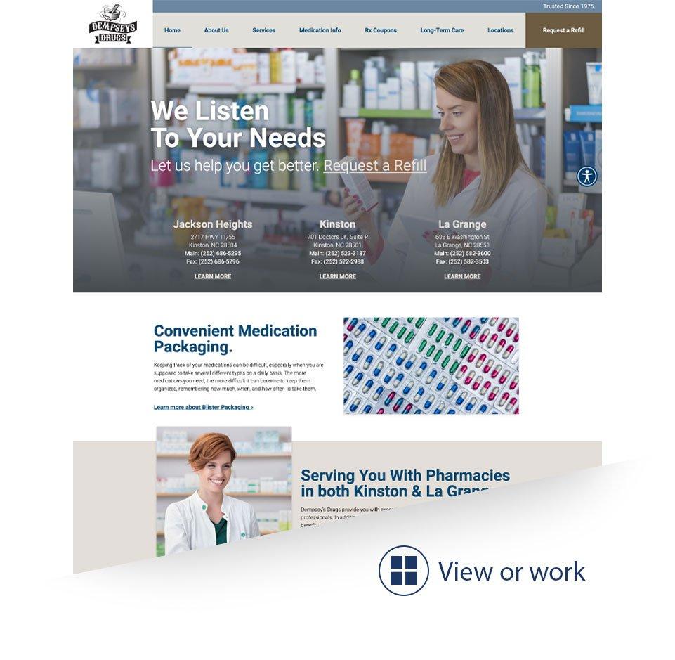 Web Design by Tidemark Creative